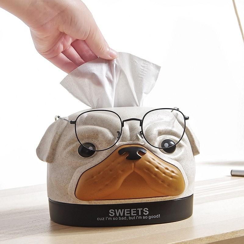造型紙巾盒+眼鏡架 [2款]