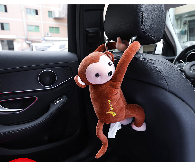 Monkey 猴子 馬騮仔 紙巾套 車用/家用