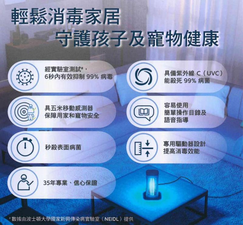 Philips UV-C 紫外線殺菌燈