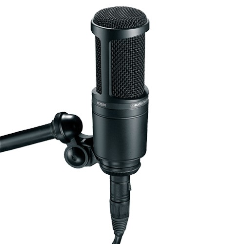 Audio Technica AT2020 心形指向電容型側邊收音咪高峰