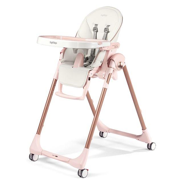 Peg Perego PRIMA PAPPA 餐椅-淡雪粉紅色
