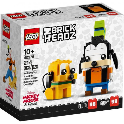 LEGO®40378 Goofy & Pluto 高飛與布魯圖 (BrickHeadz)