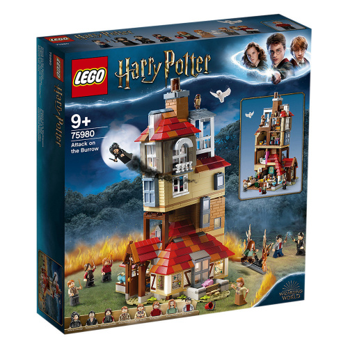 LEGO®Harry Potter™ 75980 Attack on the Burrow (哈利波特, 霍格華茲)