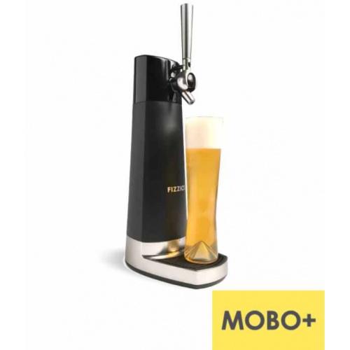 美國 Fizzics Draft Pour 家庭式啤酒機 [黑銀]