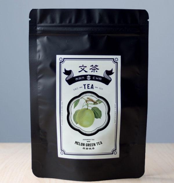 文茶 - 蜜瓜綠茶