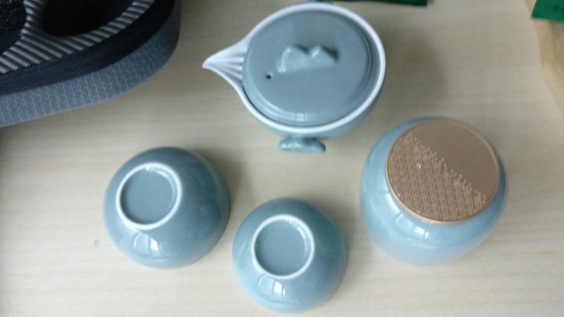 文茶 - 旅行套裝茶具(配40克奶香烏龍茶)