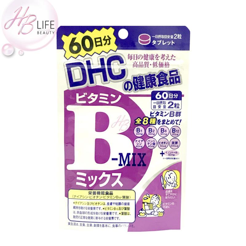 DHC 維他命B複合維生素60日份 (120粒)(有效期2024年02月)