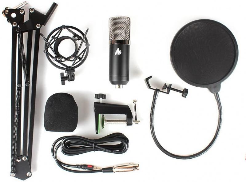 Maono AU-A03 錄音室級3.5mm 收音咪套裝