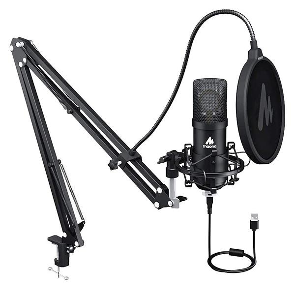 Maono AU-A425 25mm 大振膜高取樣率專業錄音麥克風套裝