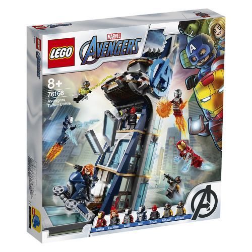 LEGO®Marvel 76166 Avengers Tower Battle (漫威, 超級英雄)
