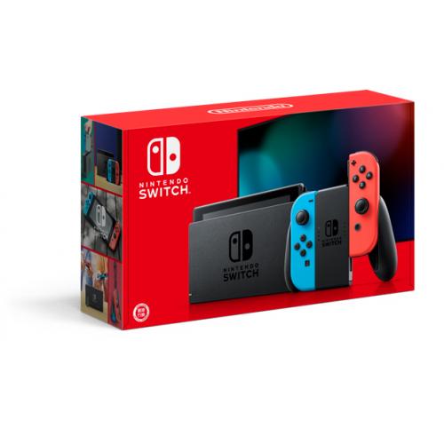 Nintendo Switch 電池持續時間加長版 遊戲主機 【紅藍色】