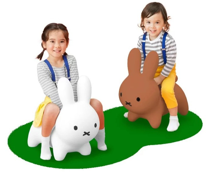 Miffy 充氣彈彈兔兒童座椅