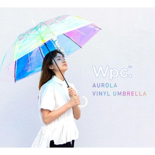 W.P.C【RIB-2001】「極光傘」Aurola Vinyl晴雨兼用長摺傘