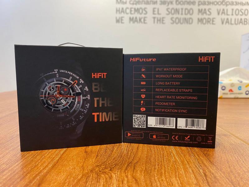 HiFuture KW35 心率血壓監測智能手錶 [3款]