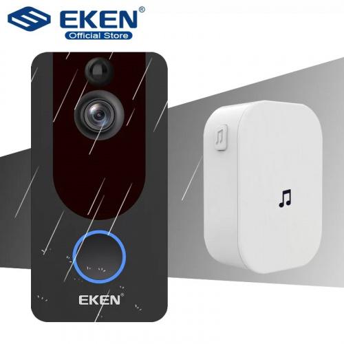 EKEN V7 高清智能WiFi無線監控攝像門鈴