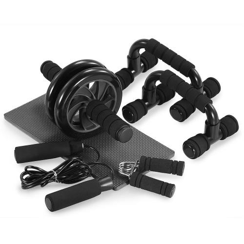 TOMSHOO 5合1 AB健身滑輪套件
