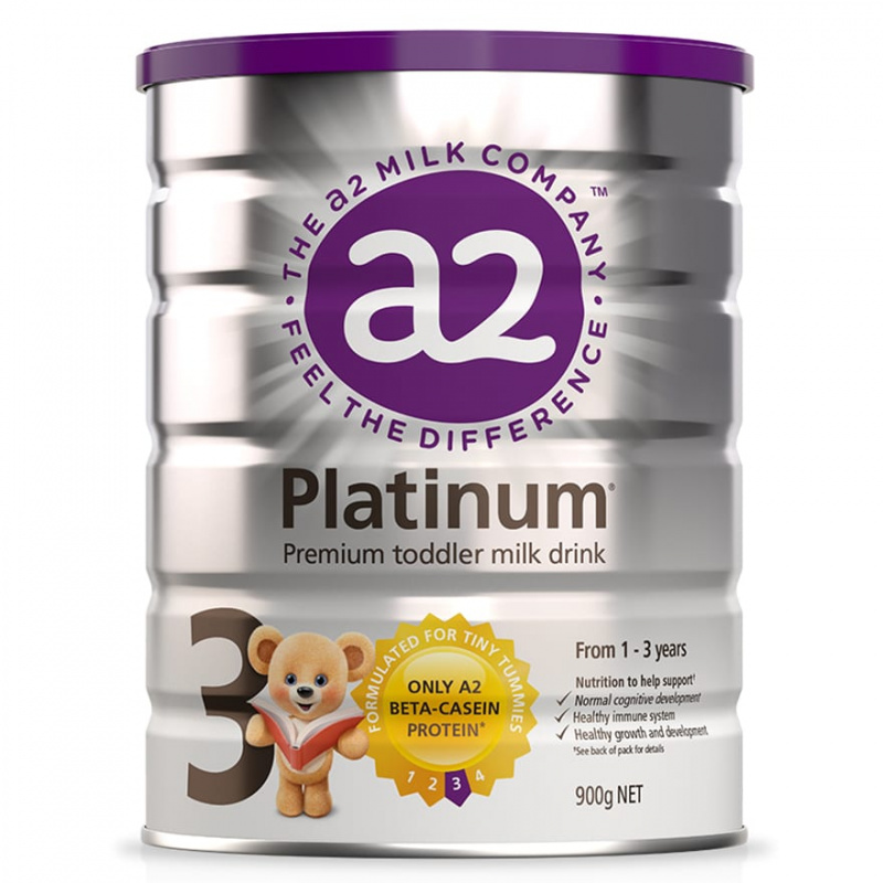 A2 Platinum 白金版 - 紐西蘭原裝原罐進口A2牛奶粉3段900g