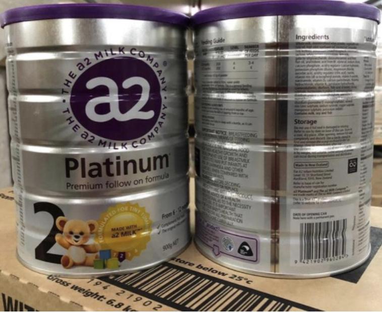 A2 Platinum 白金版 - 紐西蘭原裝原罐進口A2牛奶粉2段900g