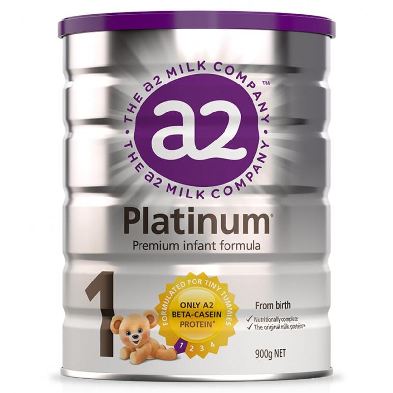 A2 Platinum 白金版 - 紐西蘭原裝原罐進口A2牛奶粉1段900g