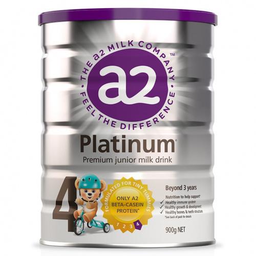 A2 Platinum 白金版 - 紐西蘭原裝原罐進口A2牛奶粉4段900g