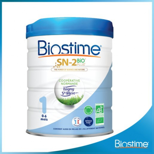 BIOSTIME - 有機嬰幼兒配方奶粉 #1號 800克 (0 - 6 個月適用)