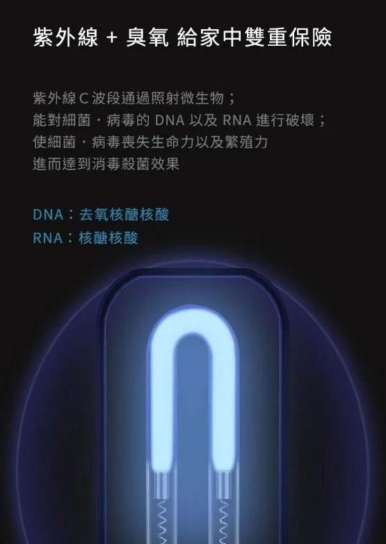 小米有品小達 殺菌消毒燈 紫外線殺菌燈🚫🦠