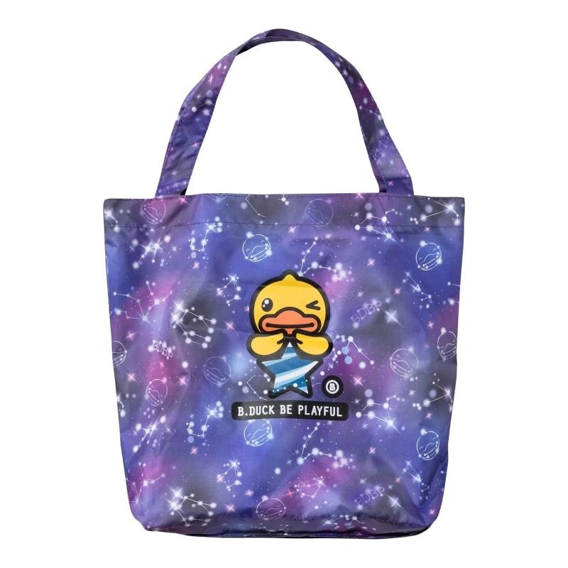 防UV摺疊傘連兩用環保袋 - 紫