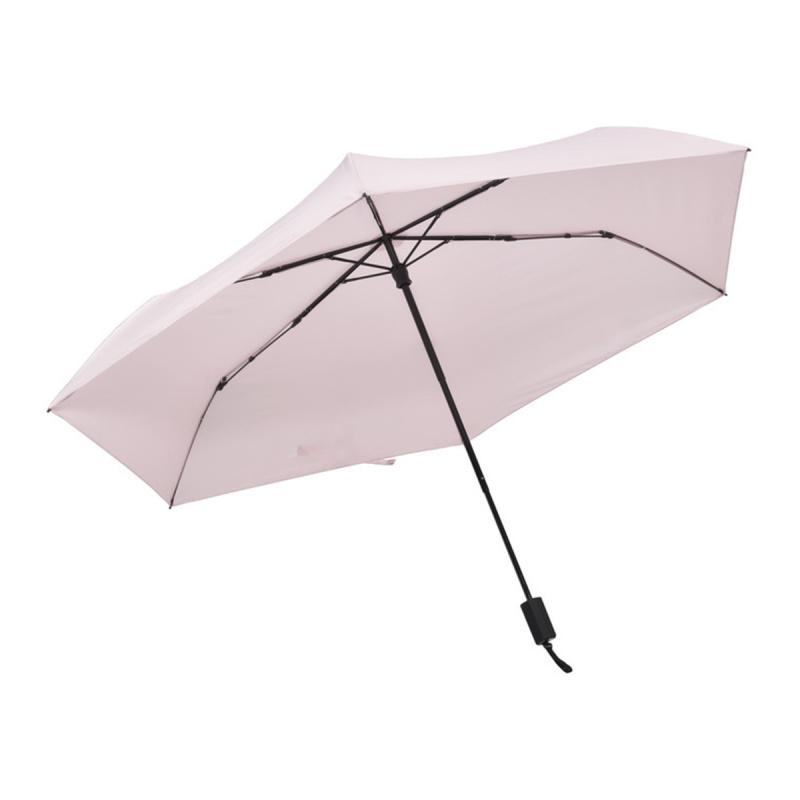 碳纖維六骨快乾傘 - 淺粉紅