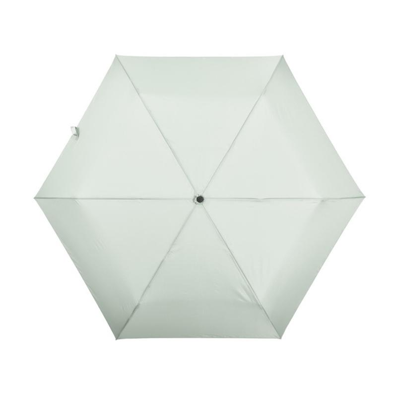 碳纖維六骨快乾傘 - 淺綠