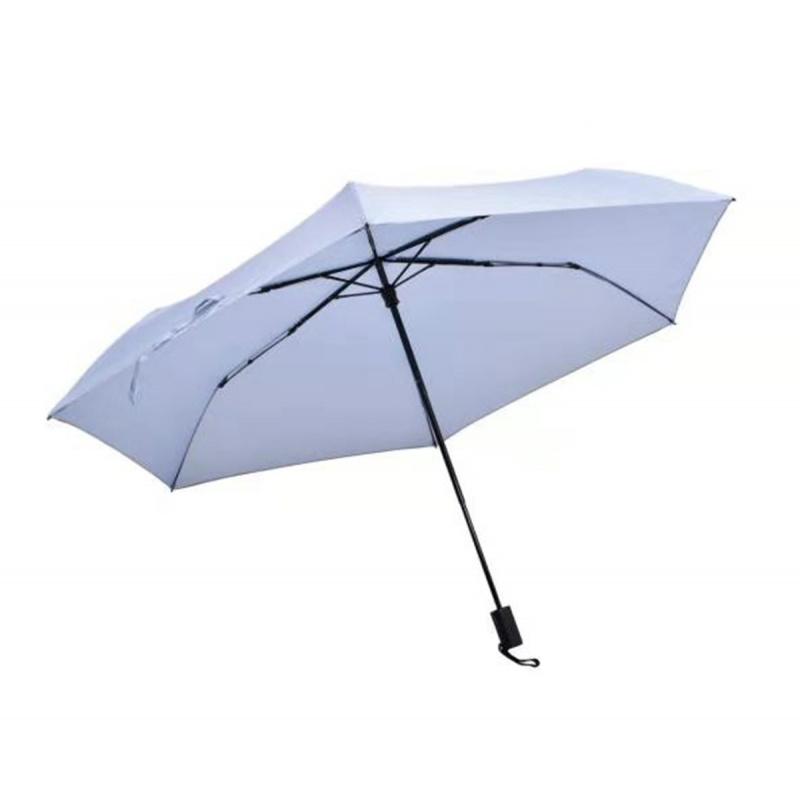 碳纖維六骨快乾傘 - 淺藍