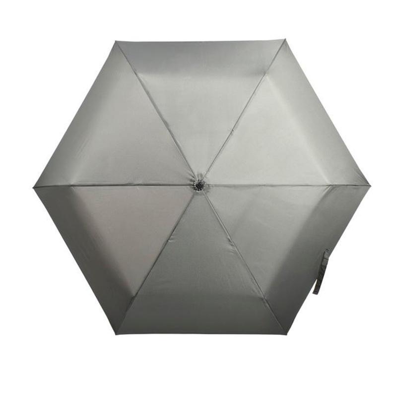 碳纖維六骨快乾傘 - 灰