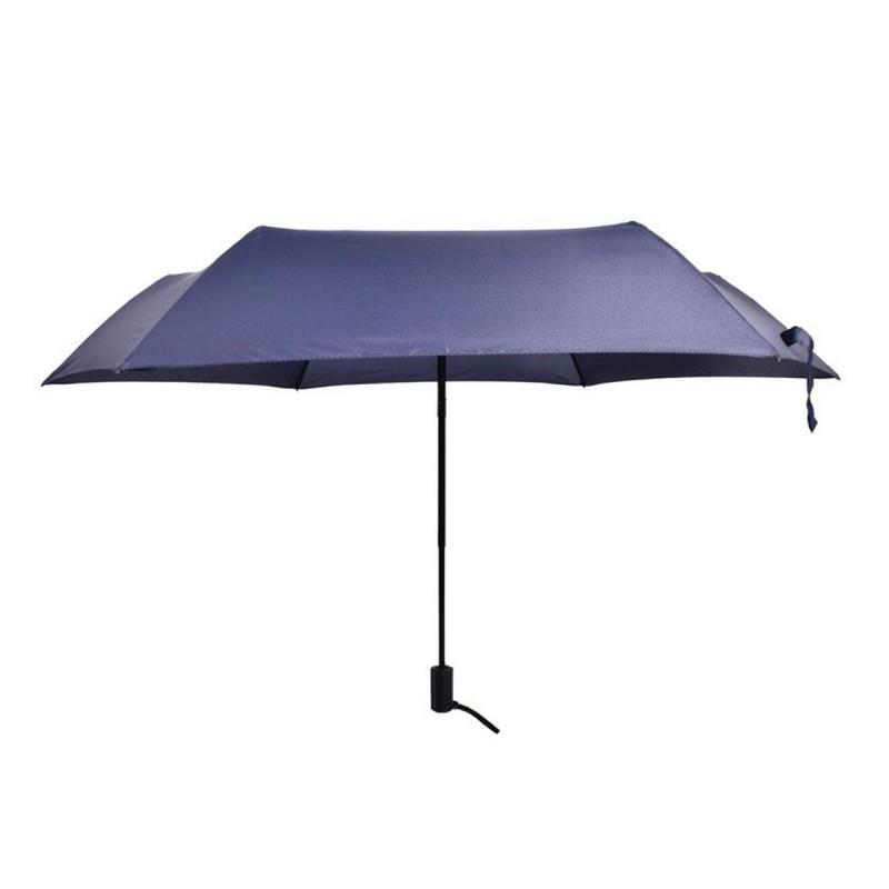 碳纖維六骨快乾傘 - 深藍