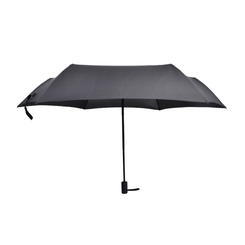 碳纖維六骨快乾傘 - 黑