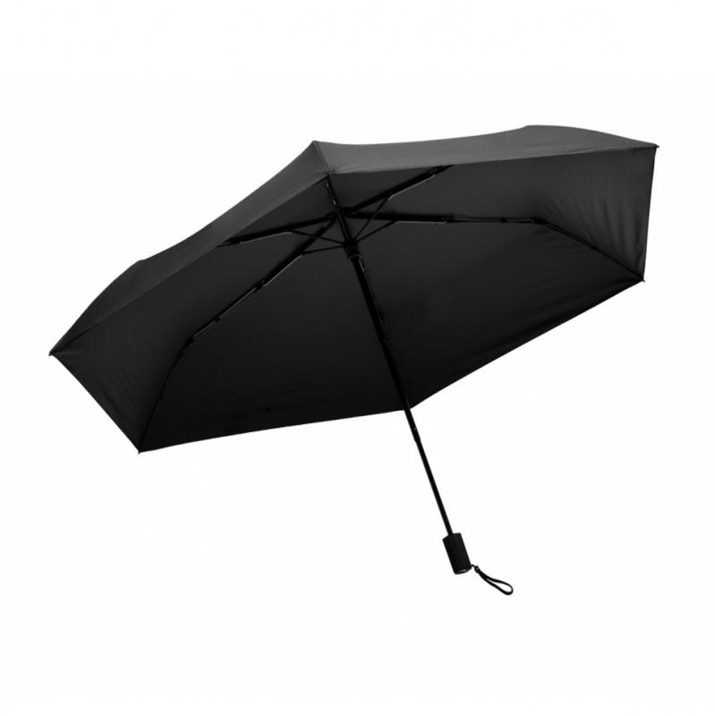 遮光系列碳纖維六骨快乾傘 - 黑