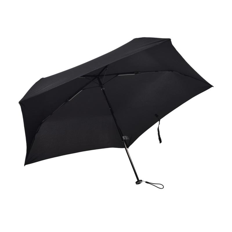 遮光系列碳纖維五骨快乾傘 - 黑