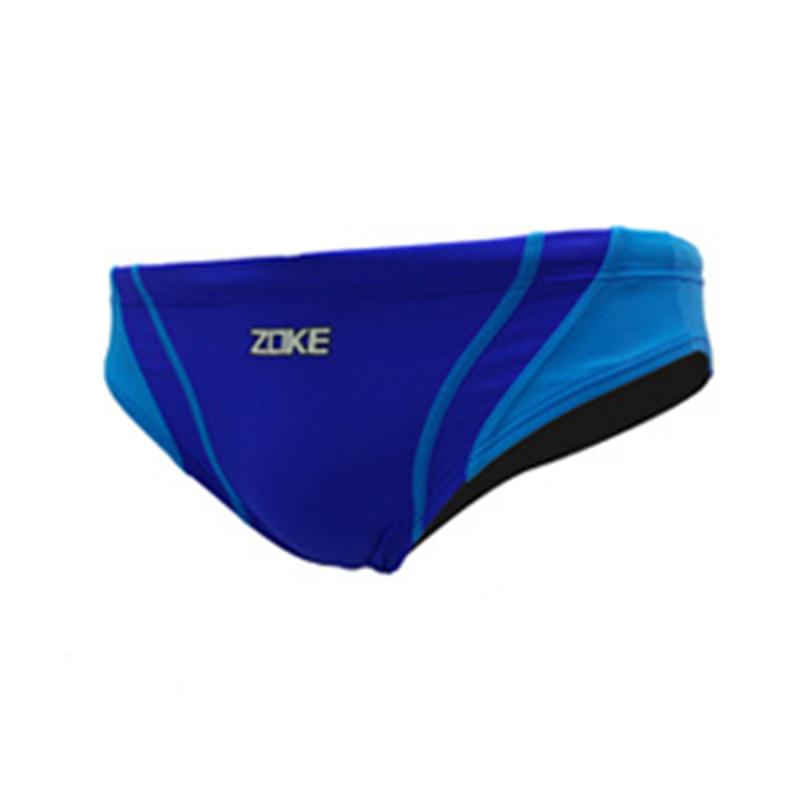 男童三角泳褲 - 藍/淺藍