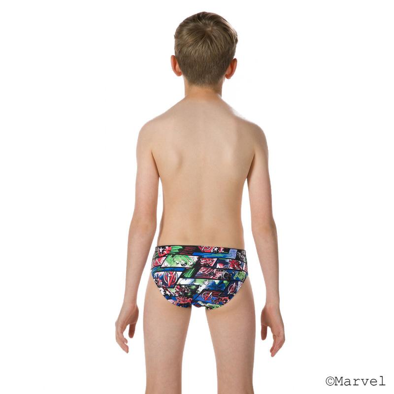 少年復仇者聯盟三角泳褲 - 黑