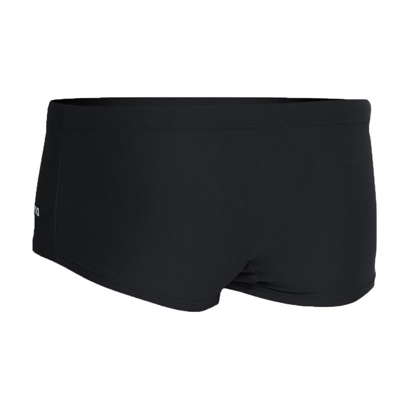 少年基礎訓練平腳泳褲 - 黑