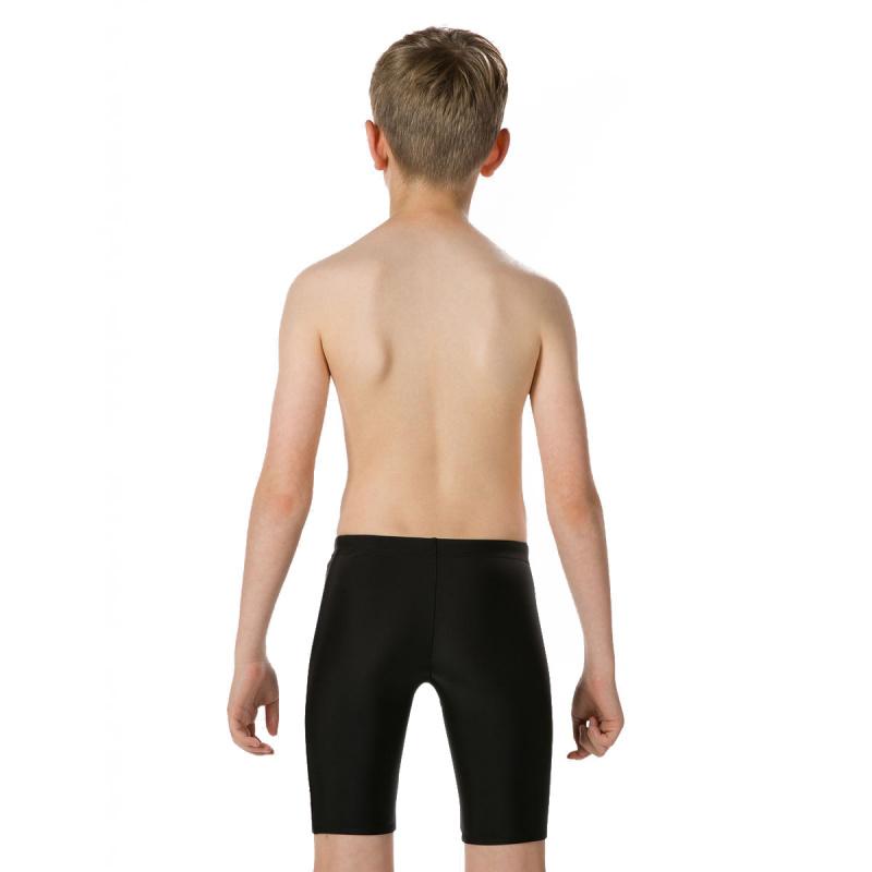 少年星球大戰印花五分泳褲 - 黑/白