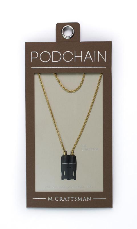 [港澳免運] M.Craftsman PodChain 掛頸繩