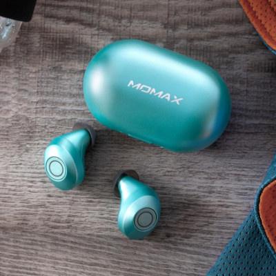 MOMAX JOYFIT 運動外掛式防水真無線藍牙耳機 BT3 (Tiffany Blue)