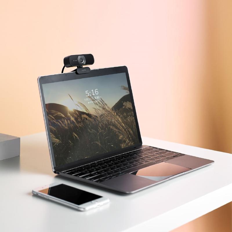 Rapoo 1080p 高清廣角視像鏡頭 Webcam (免驅動) C260