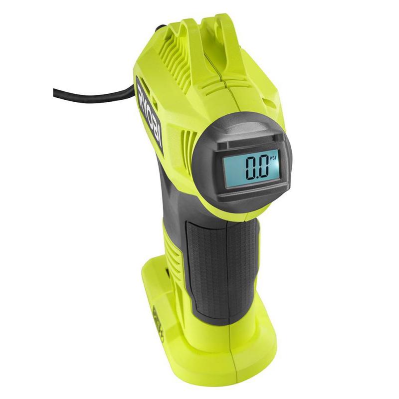 RYOBI 帶數字儀表的18伏ONE +鋰離子無線高壓充氣機(僅工具)