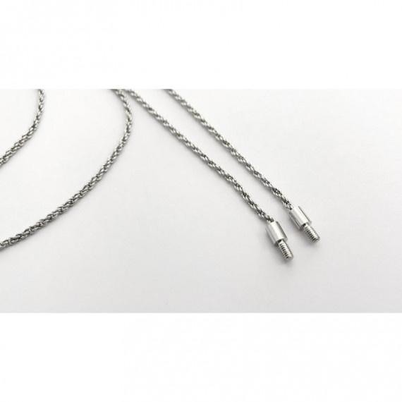 醫療級防敏白金鍍銀頸鏈 - 銀