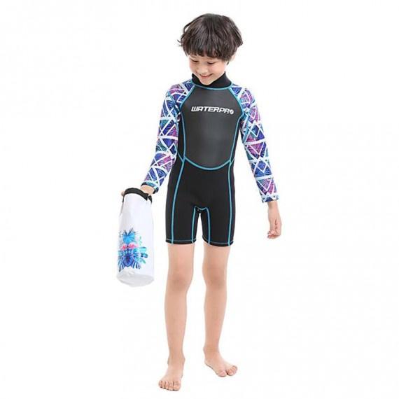 3.0mm 兒童保暖衣 - 紫