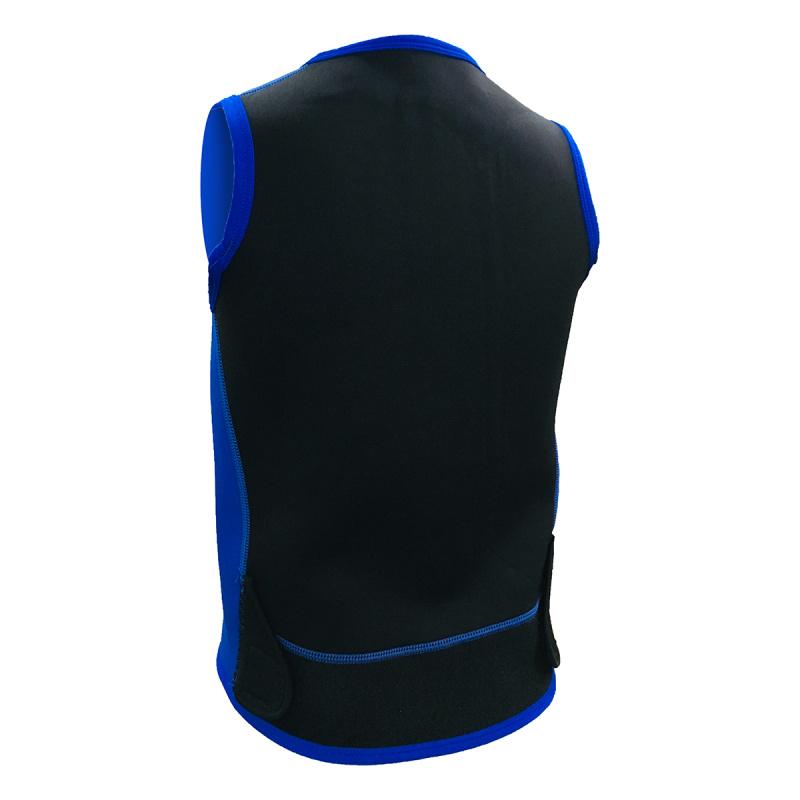2.0mm 兒童保暖背心 - 藍