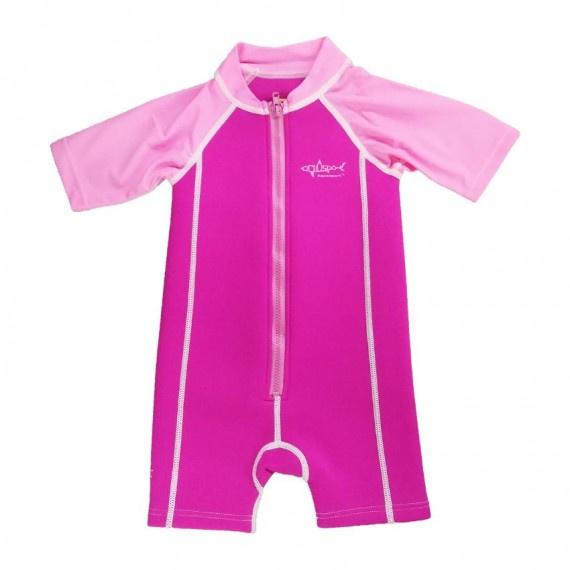 1.5mm 兒童保暖衣 - 粉紅