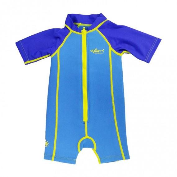 1.5mm 兒童保暖衣 - 藍