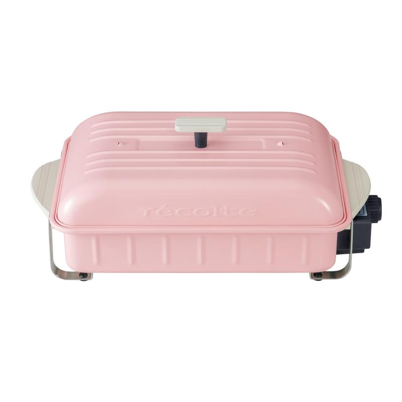 récolte Home BBQ 日式電熱鍋 櫻花粉紅限定版
