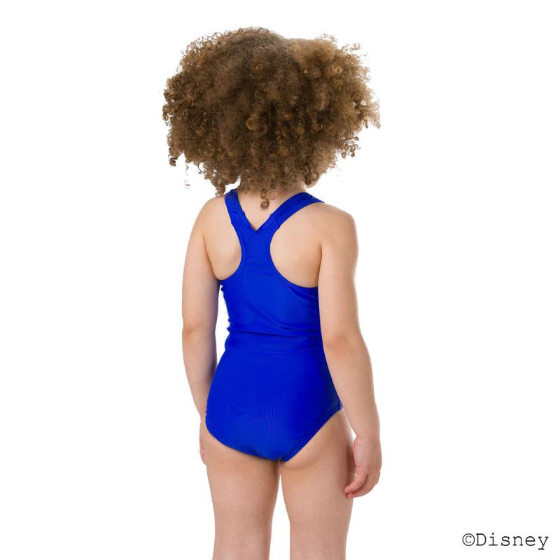 女童冰雪奇緣泳衣 - 藍